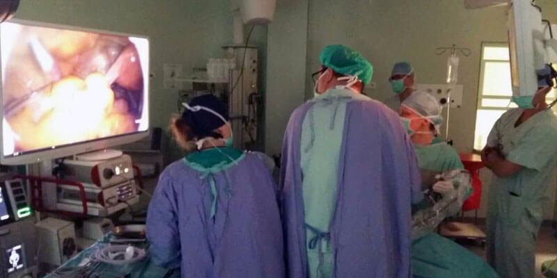 relacja z warsztatow laparoskopowych